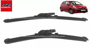 Honda-Jazz-MK1-2001-2008-Front-Aero-Wiper-Blades-20-14-FLAT-WIPERS-PAIR-NEW
