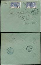 NIGERIA USED in GOLD COAST to TOGO 1937 CORONATION 3d FRANKING...DENU to ANECHO