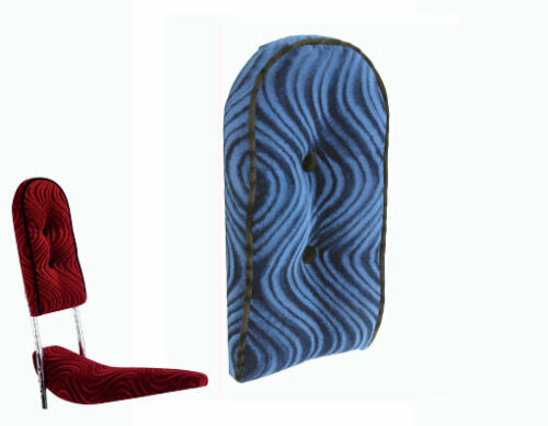 Lowrider sissy bar coussin arrière Velours Bleu Pro!! 226846