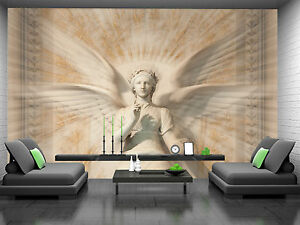 Statue of Woman Angel Wall Mural Photo Wallpaper GIANT DECOR Paper