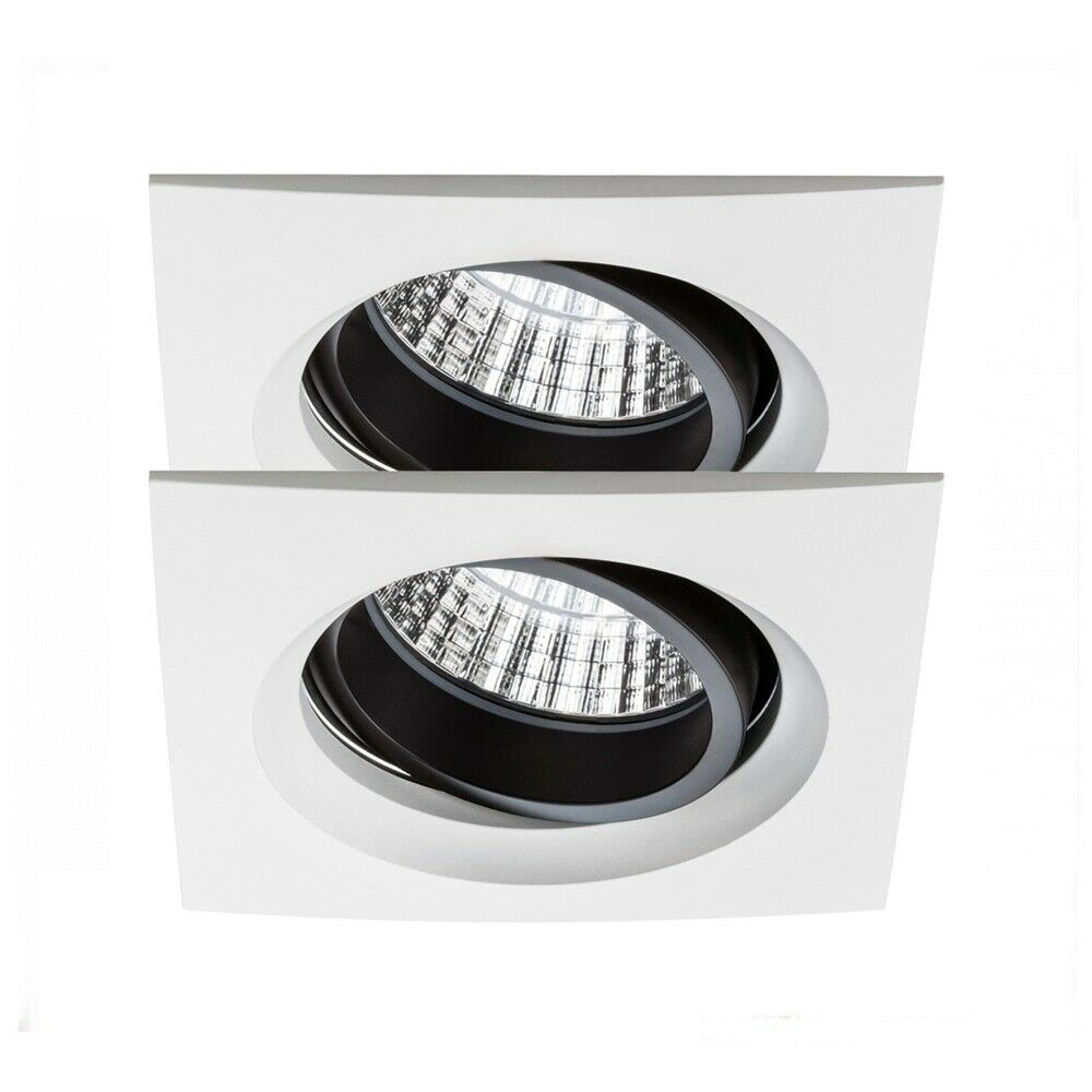 Paulmann 926.78 Einbauleuchten Premium Line Line Line Daz LED 2x7W schwenkbar weiß matt | Sonderpreis  |  8d49a4
