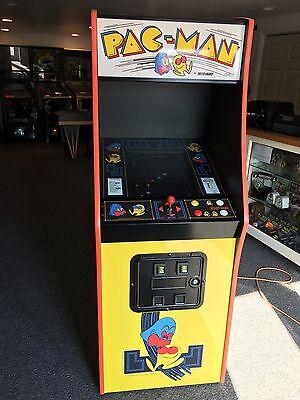 Pac Man Machine >> Restored Pacman Arcade Machine Upgraded Ebay