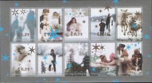 Nederland-NVPH-2296-05-Vel-Decemberzegels-2004-half-vel-Postfris