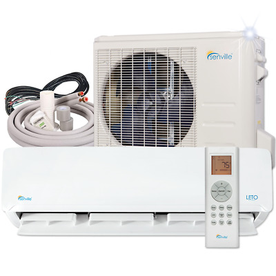 24000 BTU Ductless Heat Pump and Air Conditioner by Senville 19 SEER