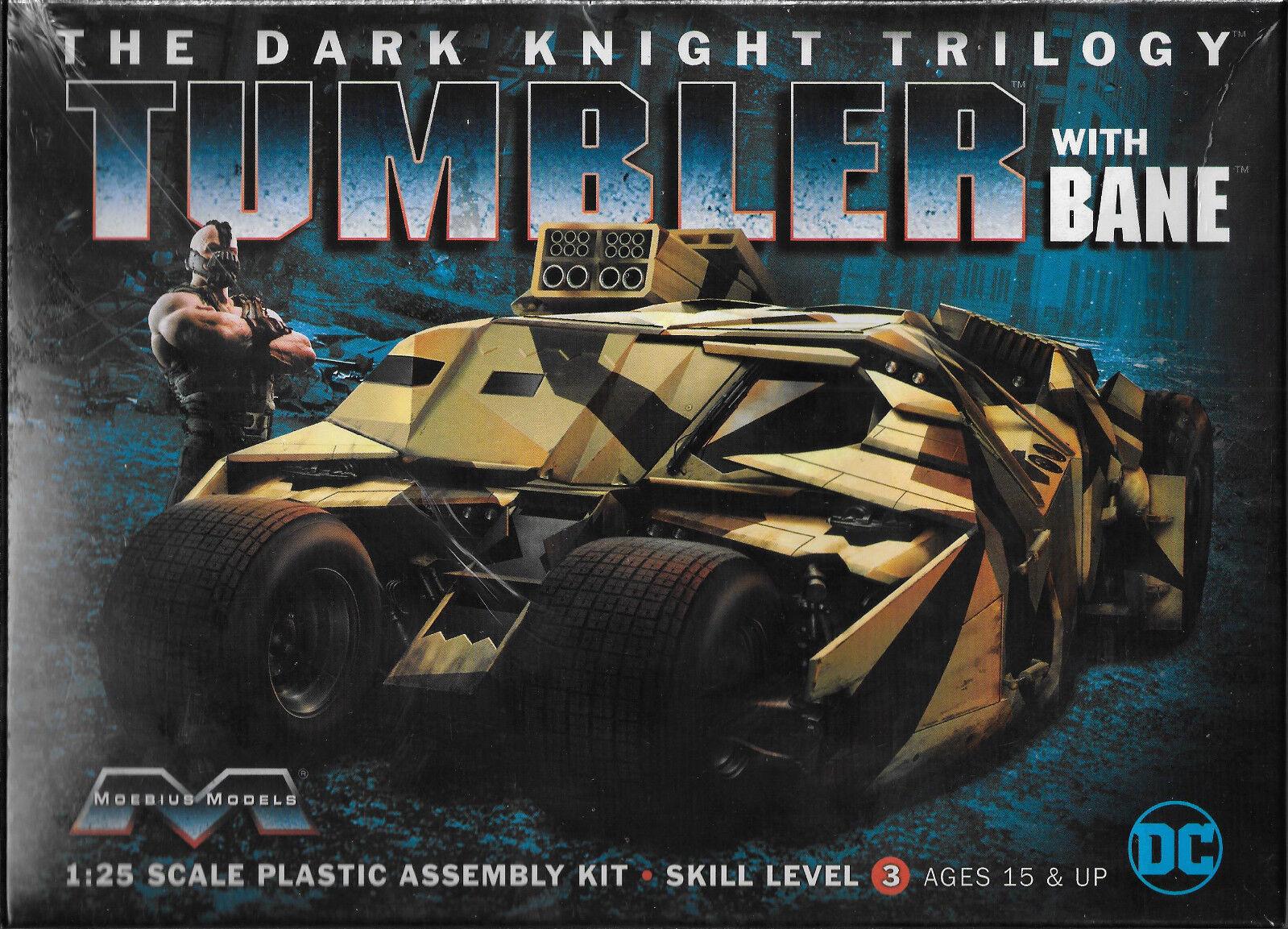 Moebius Models Dark Knight Trilogy TUMBLER w  Bane in 1 25 967 ST (JE)