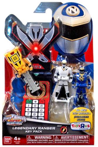 Power Rangers Super Megaforce Legendary Key Packs TOYS R US EXCLUSIVE SPD ZEO