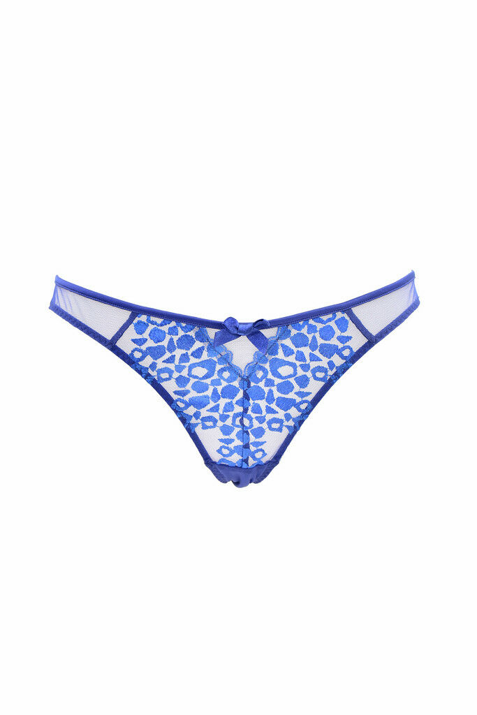 L'Agent by Agent Provocateur Women's Elegant Lace Brief bluee RRP  BCF87