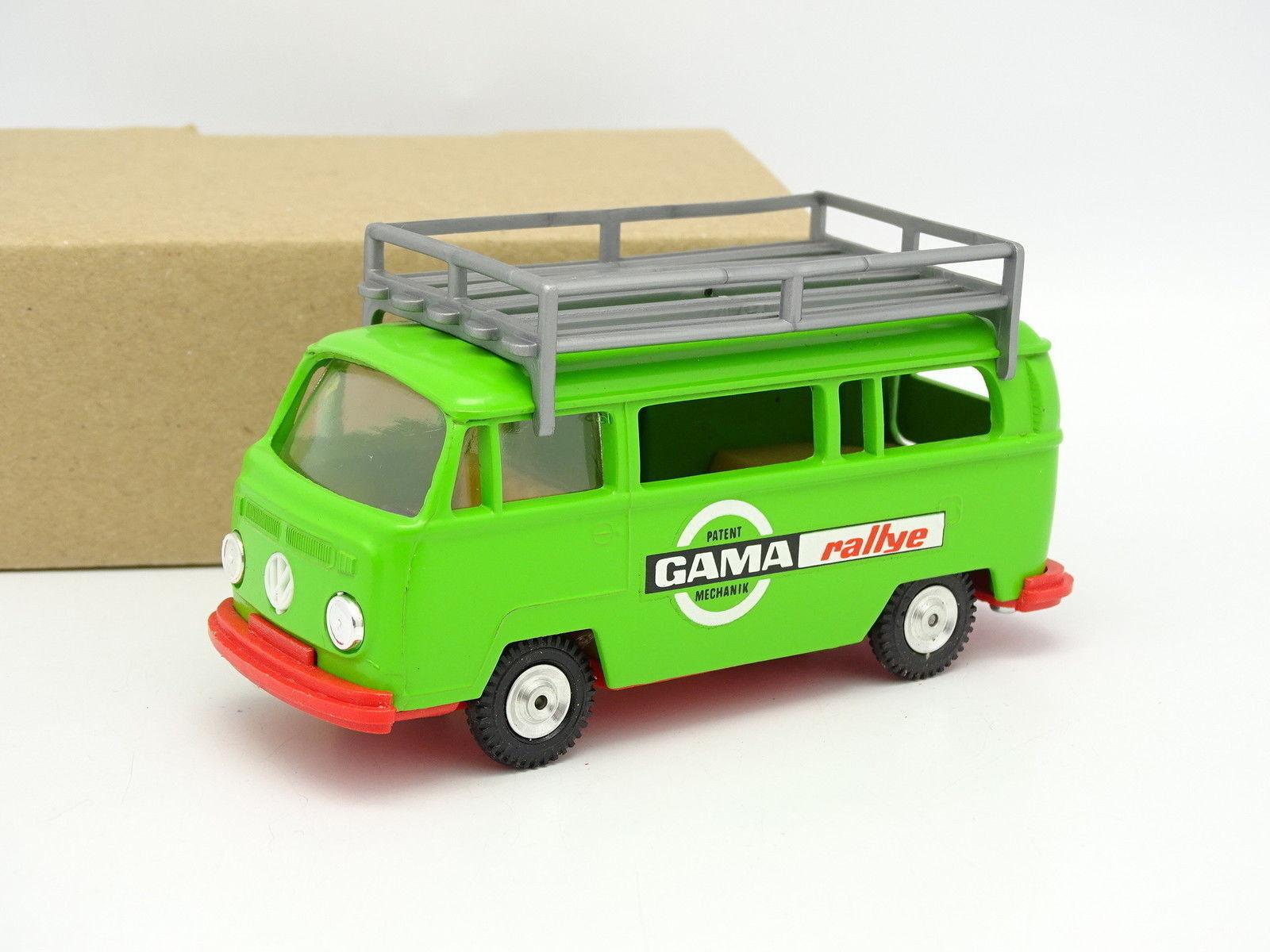 Gama mini - 1   43 - vw - kombi - t2 - bus gama rallye Grün