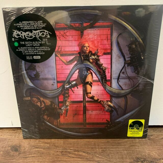 Lady Gaga Chromatica Record Store Day RSD 2021 Trifold Yellow Vinyl LP IN HAND