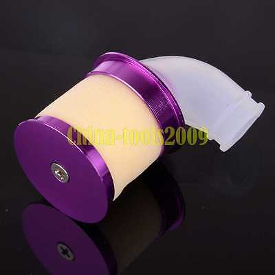 HSP For 1/8 RC 1:8 Model Car Upgrade Aluminium Nitro Air Filter 04103 Purple