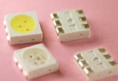 50 Pieces PLCC-6 5050 SMD 3-CHIP WARM WHITE LED
