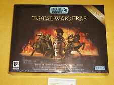 TOTAL WAR : ERAS MEDIEVAL 1 PC WINDOWS NUOVO SIGILLATO versione ITALIANA RARO