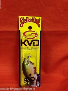 STRIKE KING KVD 1.5 Deep Diving Square Bill Crankbait #HCKVDS1.5D-517 TN SHad