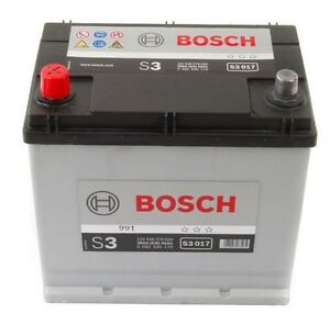 batteria bosch s3 45ah 300a per fiat 500 f l r | ebay