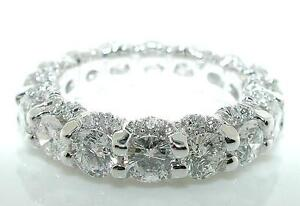 5-CT-U-Setting-Diamond-PLATINUM-ETERNITY-Wedding-Band
