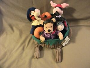 Disney Plush Beanie- Pooh & Friends, In Halloween Trick Or Treat Outfits, In Whe