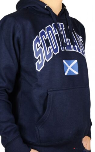 Saltire Navy Large Scotland Harvard Hoodie Blue Flag Top Lettering Gents nWa7wUXw