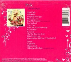 Pink-I-039-m-Not-Dead-Girls-039-Night-in-Edition-CD-4-Bonus-Tracks-Brand-New-Stil