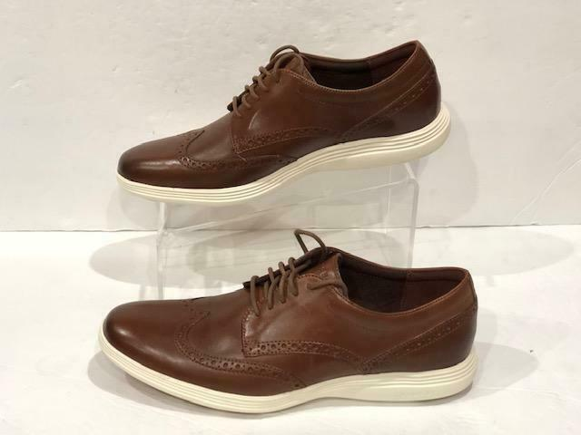 Cole Haan Gre Tour Wing Tip Ox C29414  Woodbury Ivory Sautope classeiche da uomo