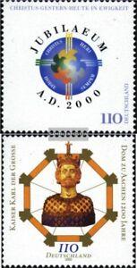 BRD-BR-Deutschland-2087-2088-kompl-Ausg-gestempelt-2000-Sondermarken
