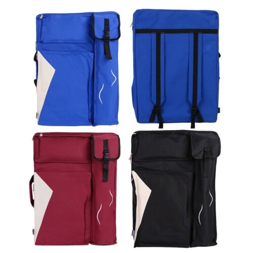 Art Portfolio Canvas Backpack Storage Bags for Artist Drawing Sketching Work