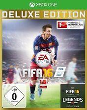 XBOX ONE GIOCO FIFA 16 FIFA CALCIO 2016 incl. Steelbook Merce Nuova