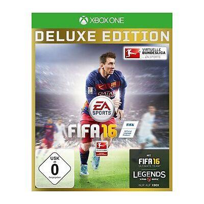 Xbox One Spiel FIFA 16 Fifa Fußball 2016 Goldsets aus Deluxe Edt. abgelaufen NEU