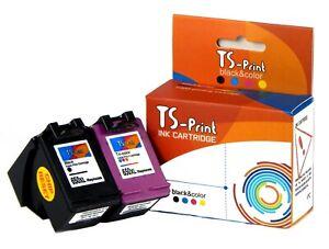 TS-Print-Set-Drucker-Tinten-Patronen-komp-HP-650-XL-Deskjet-Ink-Advantage-1515