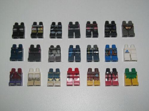 Lego ® Minifig Paire de Jambes Sériraphiée Legs Choose Pattern ref 970