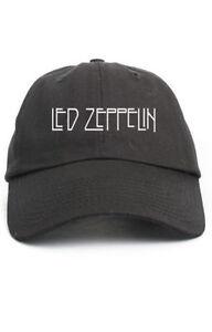 Image is loading 034-Led-Zeppelin-034-Custom-Unstructured-Black-Dad- 35647b2831c