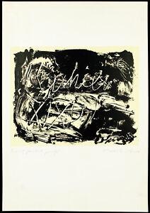 Grosse-Lithographie-von-Laszlo-LAKNER-1936-HUN-D-handsigniert