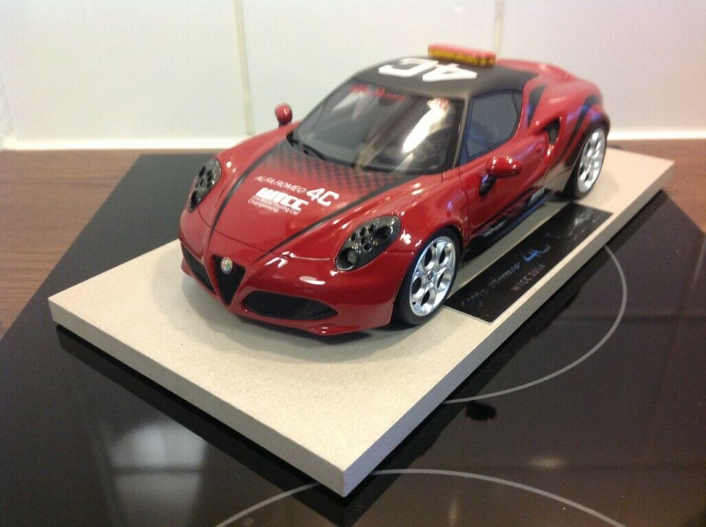 Top Marques by BBR Alfa Romeo 4C Top 11 Wtcc rot 1 18