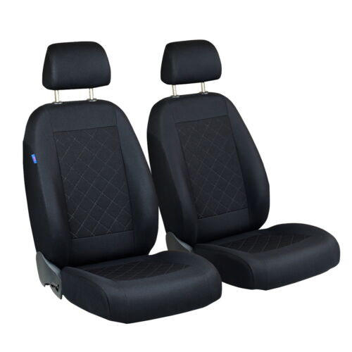 Negro fundas para asientos para audi 100 c4 asiento del coche delante de referencia