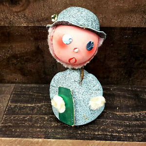 Vintage-Christmas-Bobble-Head-Nodder-Candy-Container-7-034-West-Germany