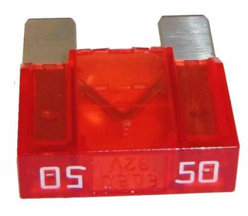 Fusible plano 50a maxi rendimiento de copia de seguridad de copia de seguridad para coche Fuse APX Zeeman