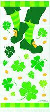 20 x St Patricks Irish Cello Favour Bags Party Loot Treat Cookie Bags Irish Jig