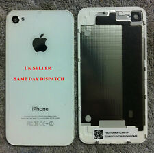 iPhone 4 back glass cover -- white