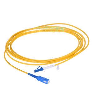 SC//UPC-SC//UPC-SM 3mm Fiber Optic Jumper Cable Single Mode Extension Patch Cord