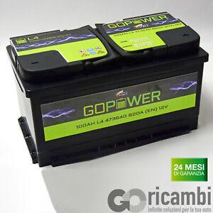 Car battery made in Italy 100ah 12v 820en l4 315 x 175 x190 | eBay