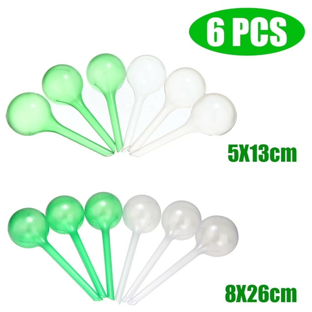 6 pcs Self Watering Automatic Plant Device Flowers Bulb Garden Indoor Water Kits