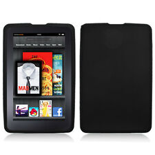Black Silicone Skin Case Cover for Kindle Fire