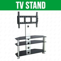Cantilever Glass Tv Stand For 37 To 47 Inches Plasma Lcd Tv W/ Bracket
