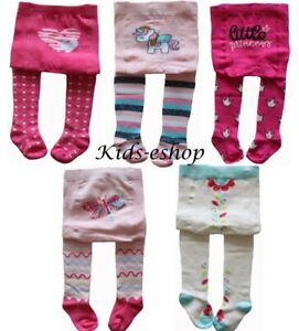 18-24 Months Toddler Girls Soft Cotton Tights Pink