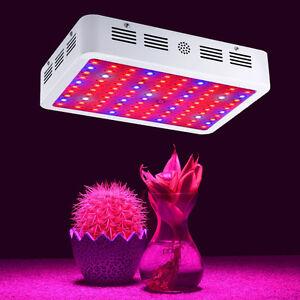 1000w full spectrum led grow light flower bloom hydroponics plant lamp. Black Bedroom Furniture Sets. Home Design Ideas