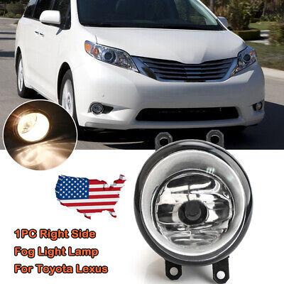 Passenger Side For 2011-2013 Lexus CT200H Bumper Fog Light Cover ...