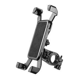 Handyhalterung-Fahrrad-Motorrad-Roller-Halter-Handy-Smartphone-Halterung-Lenker