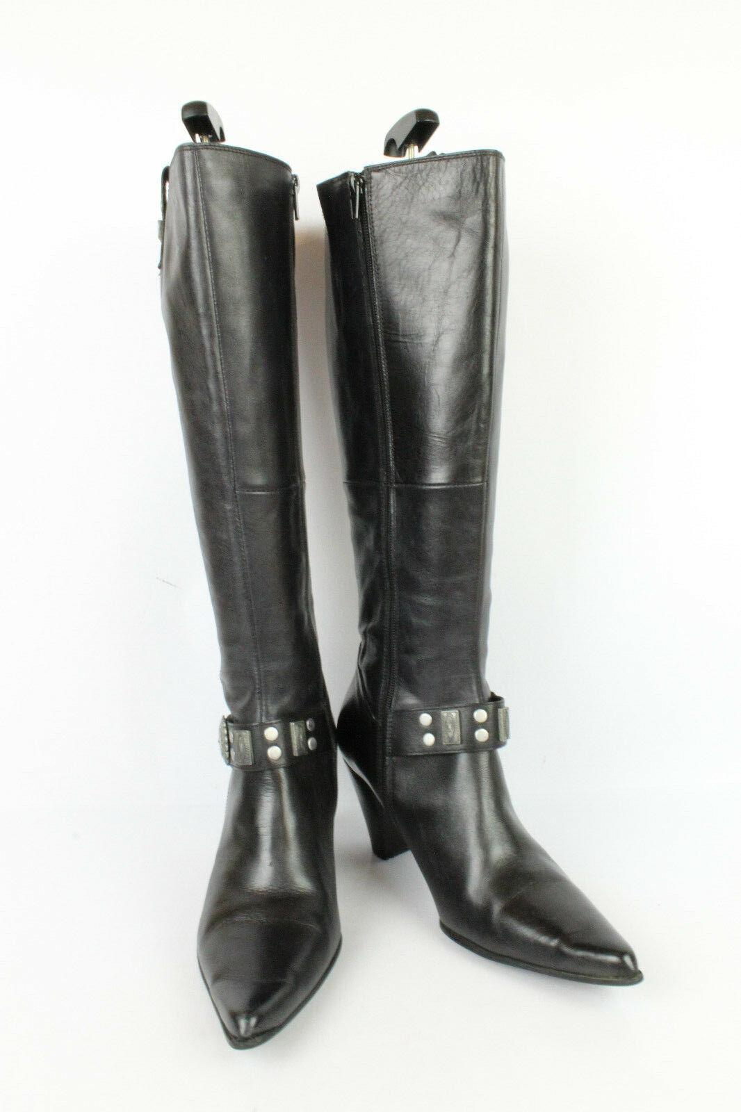 Stiefel MISS MODE Leder black de 39 UK 5.5