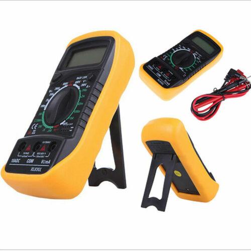 Digital LCD Multimeter Voltmeter Amperemeter AC DC OHM Stromkreis Summer Tester