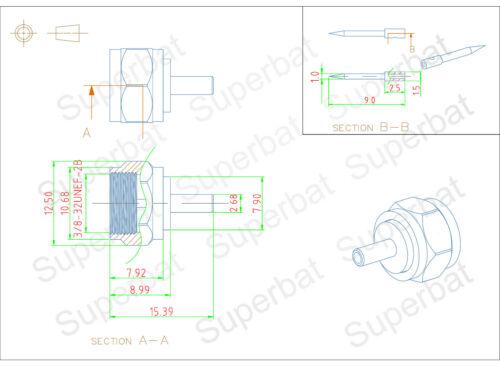libre de mantenimiento bola rodamientos normales hembra 5 unid braguitas elige d19-d24 cylindrical bearing