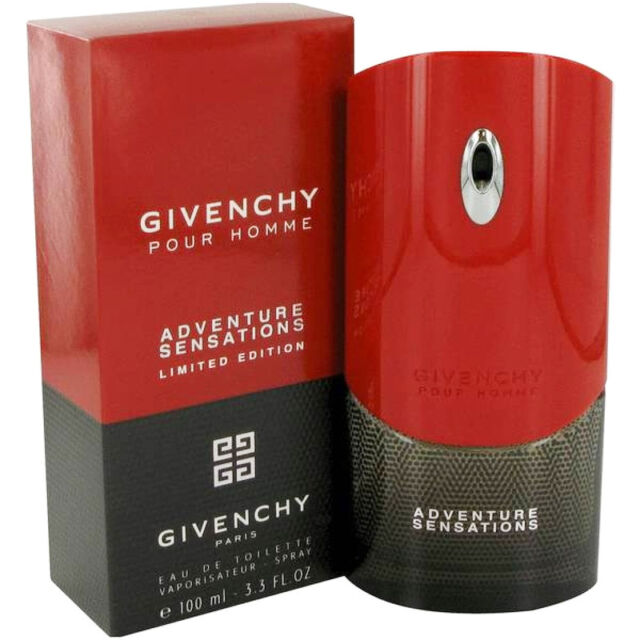 Givenchy Adventure Sensations Cologne for Men 100ml EDT Spray - Limited Edition